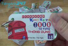 Flashcard 3000 từ vựng tiếng Anh thông dụng của Oxford
