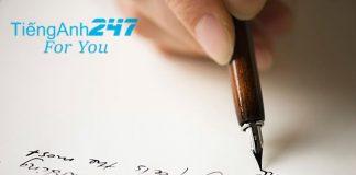 cách viết thư bằng tiếng Anh
