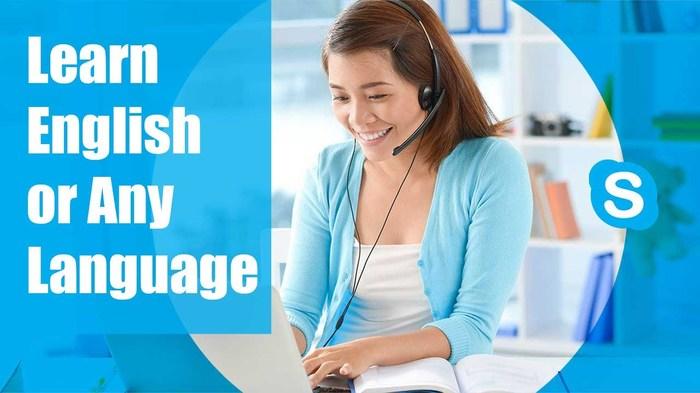 học tiếng Anh qua skype giáo viên nước ngoài