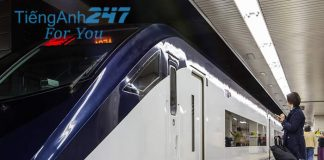 Hội thoại tình huống tiếng Anh đặt vé tàu hỏa