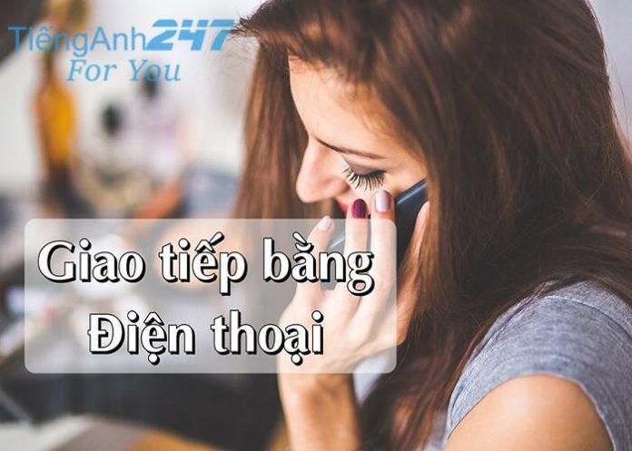 Mẫu câu tiếng Anh khi nghe điện thoại
