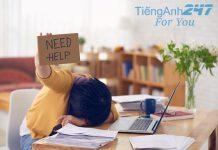 nhàm chán khi học tiếng Anh