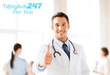 Mẫu câu tiếng Anh giao tiếp y khoa