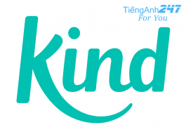 từ đồng nghĩa kind