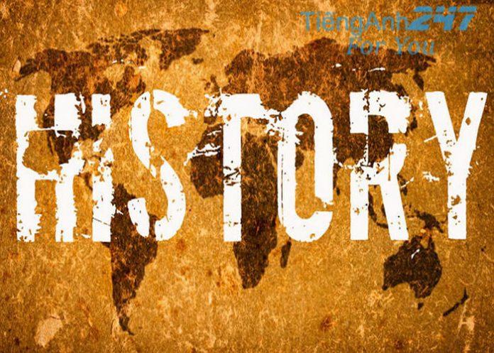 tiếng Anh liên quan đến lịch sử