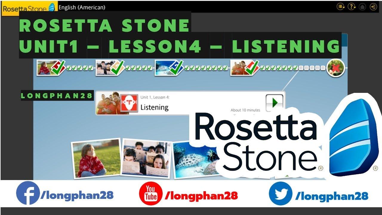 rosetta-listening